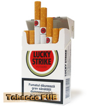 Cigarettes Lucky Strike Red